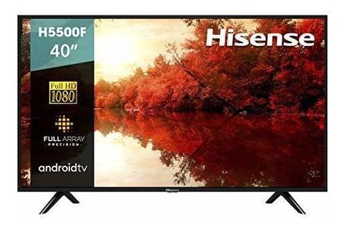 Imagen 1 de 6 de Smart Tv Hisense De 40 Pulgadas 40h5500f Clase H55 De Androi