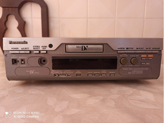 Panasonic Ag-dv1000p Vídeo Digital (defeito F 04) Leia Tudo