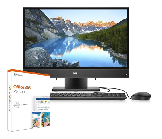 All In One Dell 3280-m10f Ci3 4gb 1tb 21.5 W10 Office 365