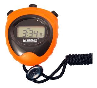 Cronômetro Com Alarme Marcador De Hora E Data Liveup Ls3193