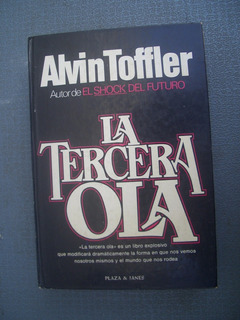 Libro La Tercera Ola De Alvin Toffler