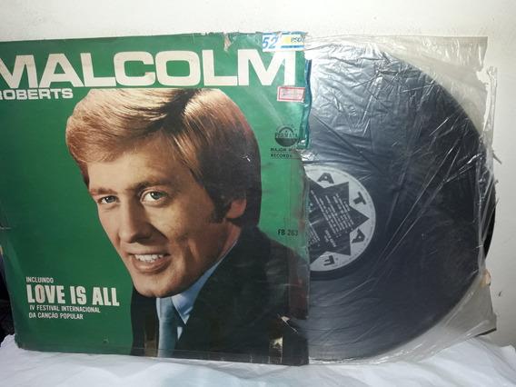 Lp Malcon Roberts Love Is All 1969 Ne