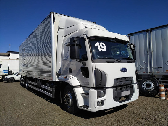 Ford Cargo 1723 2019 Leito Automatico, Bau 9,5m Sb Veículos