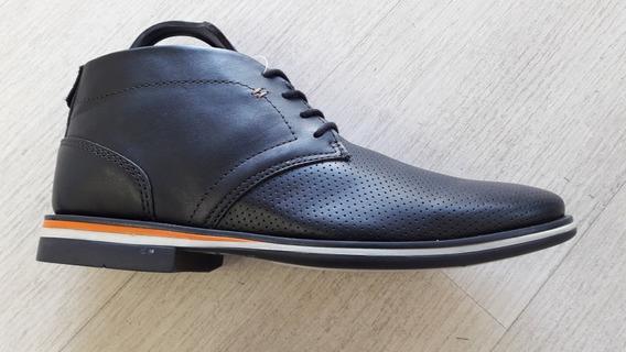 Zapatos Botitas De Cuero Urbana. West Coast