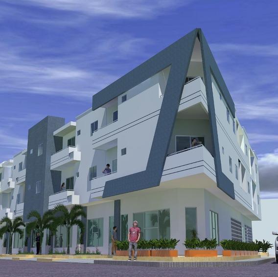 Imponente Edificio De Apartamentos