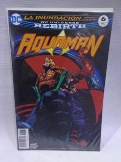 Aquaman Rebirth Vol.6 Dc Comic´s Televisa 2018