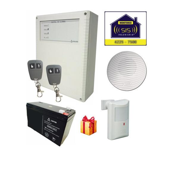 Kit Alarma X28 Domiciliaria Casa Controles Departamento
