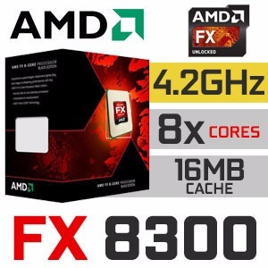 Processador Amd Fx 8300 Octa Core, Black Edition, Cache 16mb