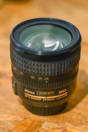 Lente Nikon 24-85mm Ed