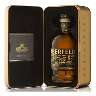 Whisky Single Malt Aberfeldy 12 Años Golden Dram 1000ml Lata