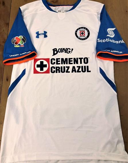 Camisa Cruz Azul Usada Em Jogo Liga Mexicana 2016