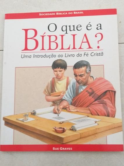 Livro O Que É A Bíblia