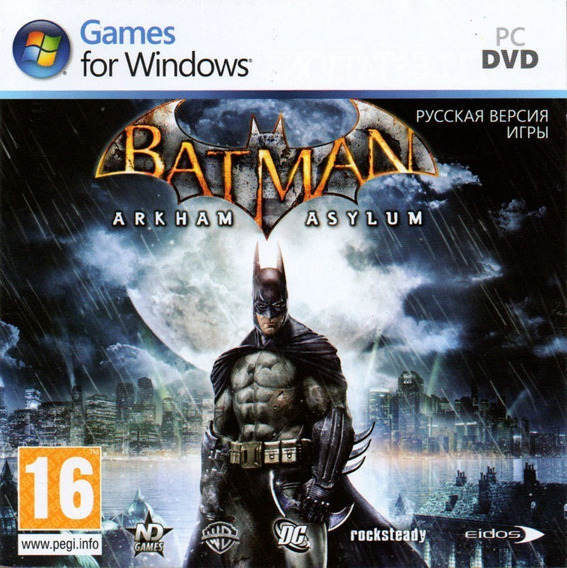 Batman: Arkham Asylum Game Of The Year - Pc Mídia Digital