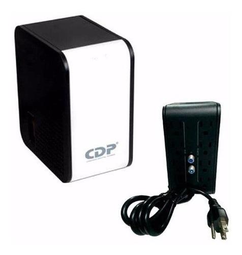 Imagen 1 de 10 de Regulador De Voltaje Cdp R2c-avr1008 1000va 8 Tomas Coaxial