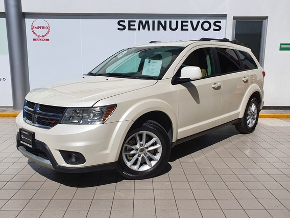 Dodge Journey 2.4 Sxt 7 Pasajeros Lujo At 2018