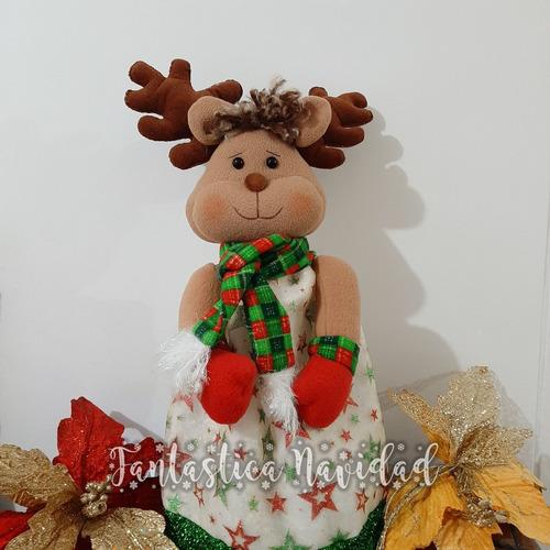 Imagen 1 de 3 de Farol De Navidad - Muñeco De Navidad