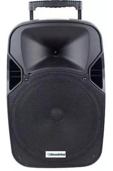 Caixa Amplificada Roadstar Rs112cx Bluetooth/usb Woofer 12 /caixa Som /microfone / Controle