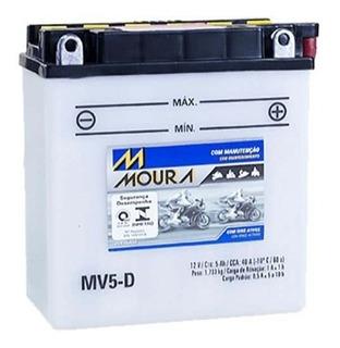 Bateria Moura Moto 5ah Yamaha Crypton 115cc