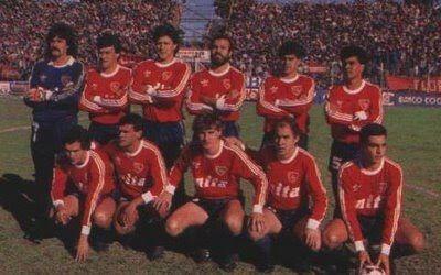 Camiseta De Independiente Campeón 1988/89 # 6 Delgado
