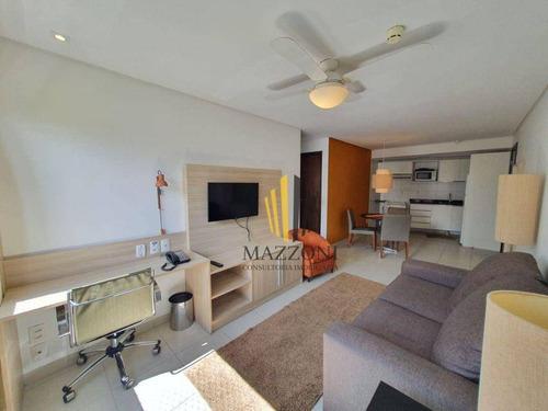 Beach Class Convention | Mobiliado | Nascente | 55m² | 2 Quartos Sendo 1 Suíte | Area De Lazer | Aluguel R$ 2.600 - Ap1460