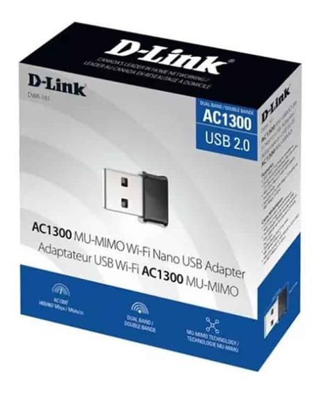 Adaptador Usb Wireless D-link Ac1200 Dualband 5ghz Envio 24h