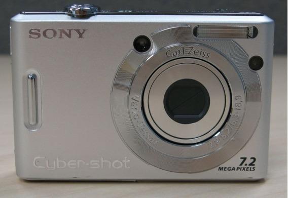 Câmera Fotográfica Sony Cyber Shot Dsc-w35 Retirada De Peças