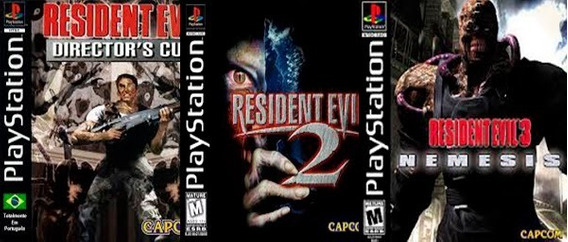 Resident Evil 1 2 E 3 Versão Pc Produto Virtual