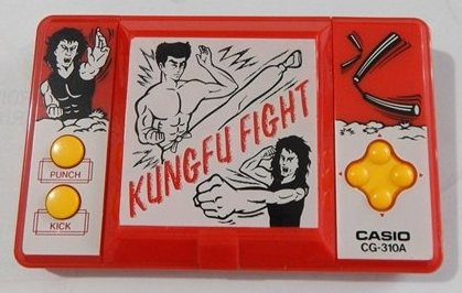 Mini Game Kung Fu Casio 1990 Made In Japan