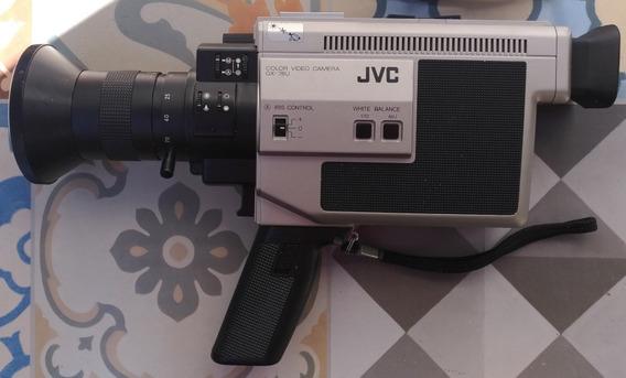 Câmera Filmadora Jvc Gx-78u Antiga Em Estado De Nova