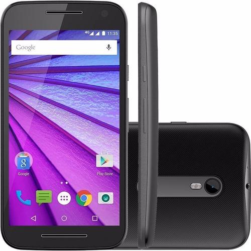 Motorola Moto G3 3ª Ger Xt1543 4g Dual 16gb Vitrine+brinde