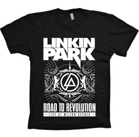Camisas Rock - Linkin Park Road To Revolution - 100% Algodão