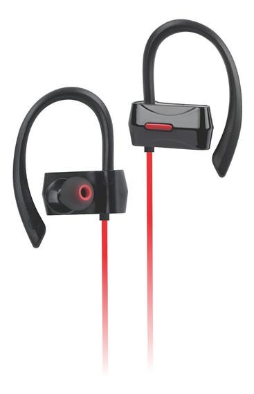 Fone De Ouvido Bluetooth Esportivo K30 Vermelho
