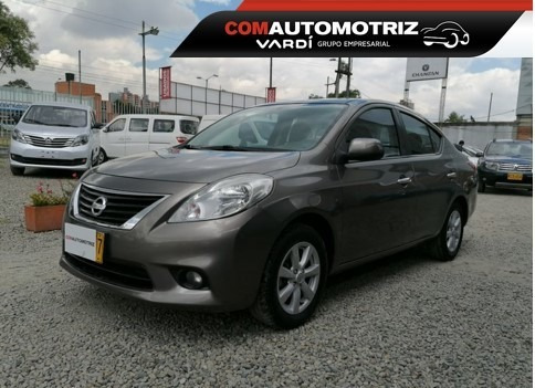 Nissan Versa Advance Aut Id 38243 Modelo 2012