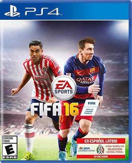 Videojuego Fifa 16 Para Playstation 4