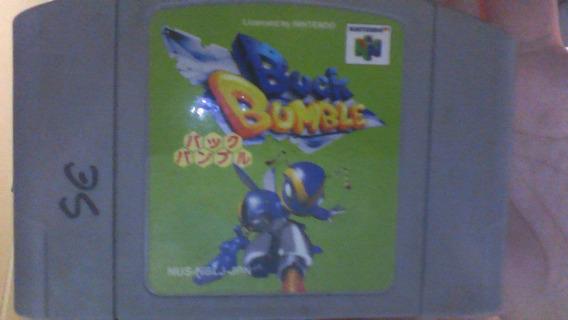 Buck Bumble Nintendo 64 Original Japones