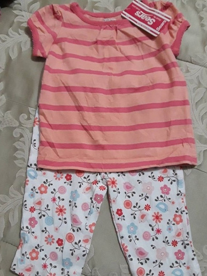 Conjunto De Niña Mini Wear 6-9 Meses