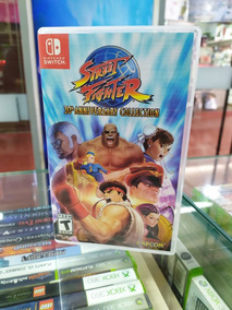 Street Fighter 30º Anniversary Collection Nintendo Switch