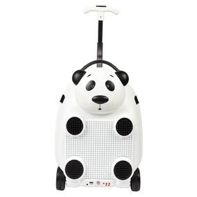 Mochila Com Rodinhas - Play Music Animals Rc - Panda - Sesti