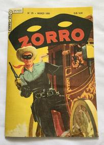 Zorro - 1ª Série - Nº 25 - Fac-símile