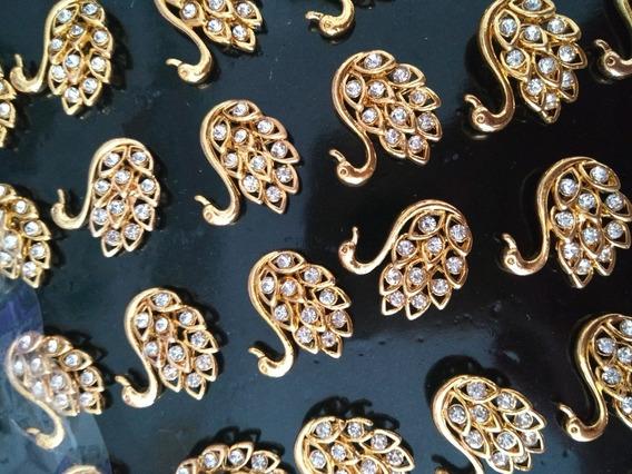 Piercings Para Chinelos 6 Cartelas Com 24 Pares Cada