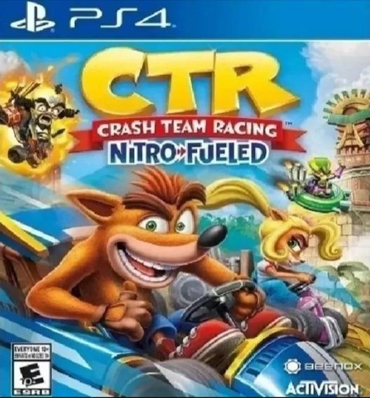 Crash Team Rancing Nitro-fueled Ps4 Origial