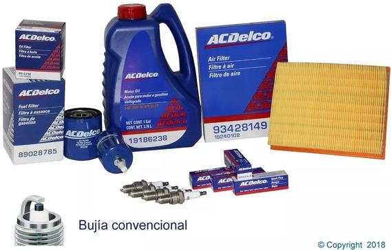 Kit Afinacion 20w50 Sl Multigrado Chevy 96/12 Bujia Cobre F*