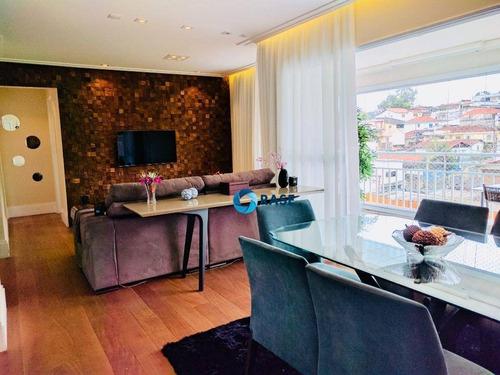 Imagem 1 de 25 de Apartamento À Venda, 96 M² Por R$ 690.000,00 - Morumbi - São Paulo/sp - Ap11682