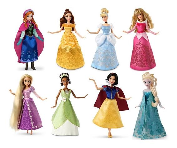 Vestido Princesa Disney Pra Boneca Barbie * Sapatos + Coroa