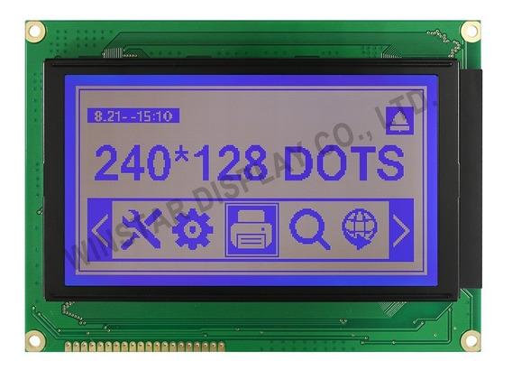 Display Winstar Ra6963l2na 240x128 Azul