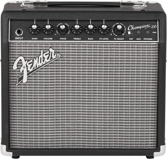Amplificador Para Guitarra Fender Champion 20 Efectos