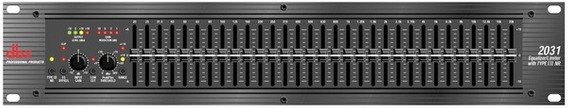 Equalizador Gráfico 31 Bandas Stéreo Dbx2031 V (110v)