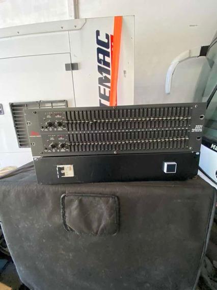 Equalizador Dbx 2231