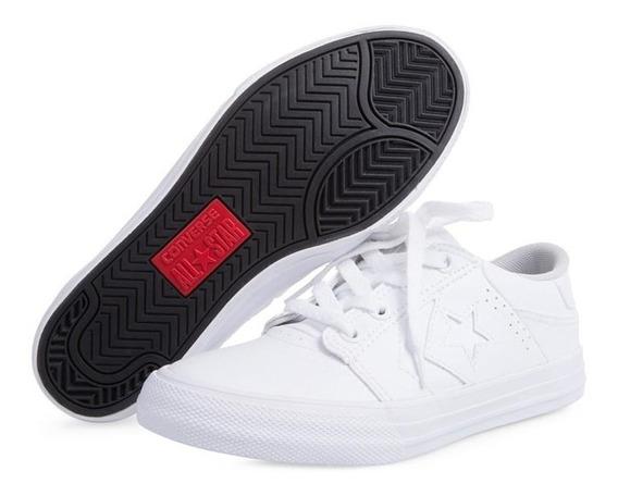 Tenis Converse Blancos Pr-8080862