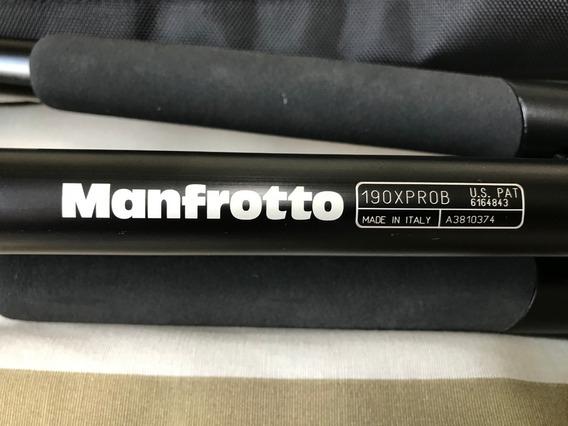 Tripé Manfrotto 190xprob + Cabeça Manfrotto 498rc4 Seminovo